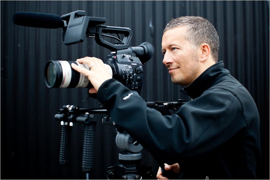 Paul Gwilliams C300 cameraman {corporate portraiture}