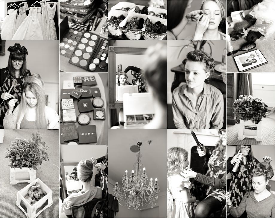 1950's debutantes inspired bridal shoot {Miss Bush Bridalwear, Surrey}